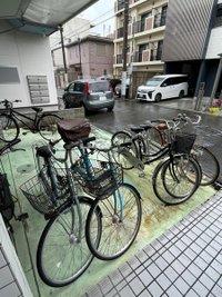 自転車置場がありますよ^^