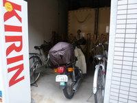 自転車置き場です!